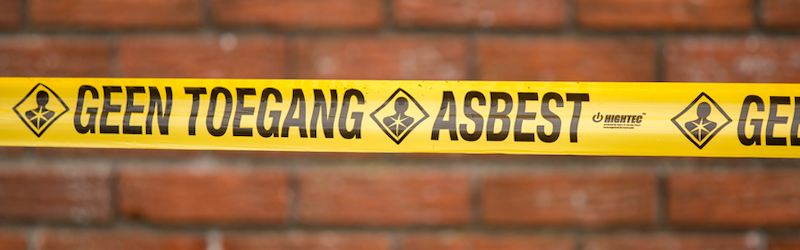 Asbest dakbeschot saneren - Bouwbedrijf Wilms B.V.